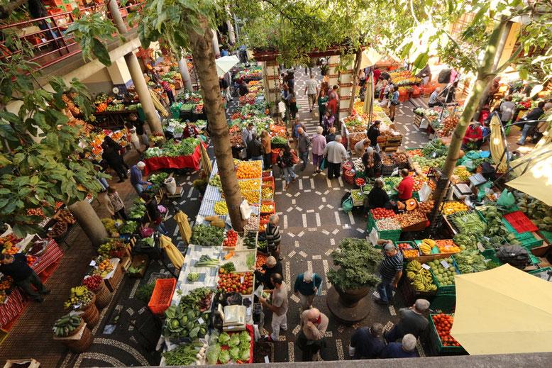 Markthalle in Funchal (Mercado dos Lavradores).
