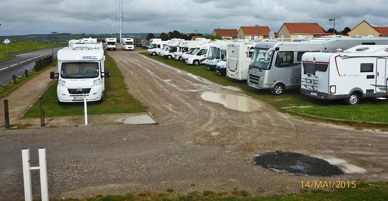 Sollen wir in Le Tréport unser Nachtlager aufschlagen?