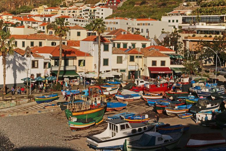 Hafenidylle in Câmara de Lobos, westlich Funchal.