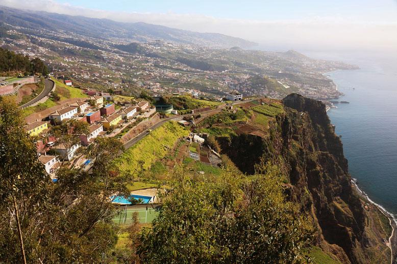 Ausblick vom Cabo Girão.