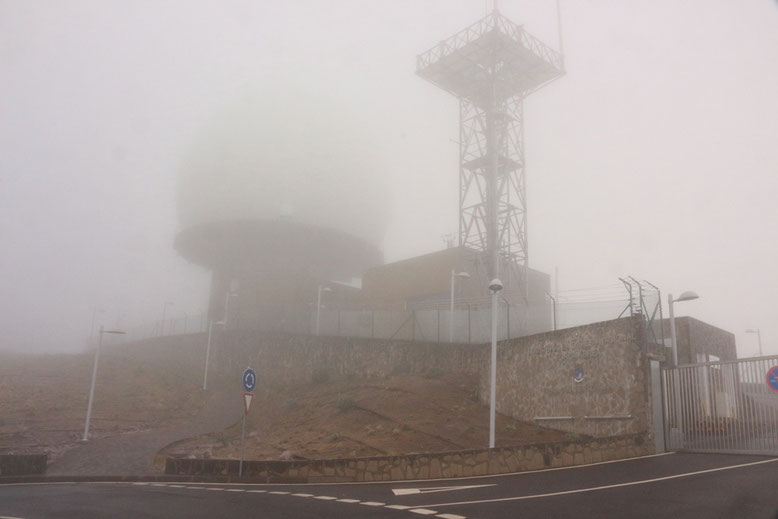 Parkplatz unweit des Pico Arieiro.