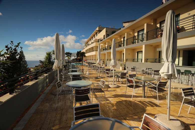 Poolterrasse Hotel Madeira Panoramico.