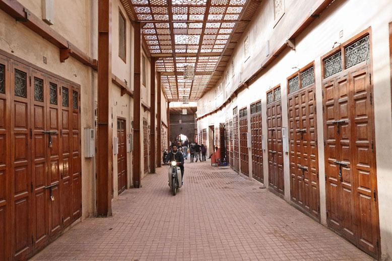 Jüdischer Markt Marrakesch.
