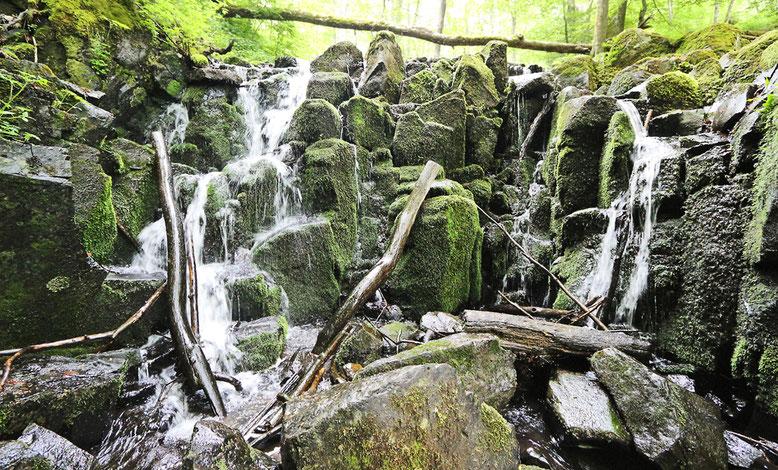 Wasserfall Teufelsmühle.