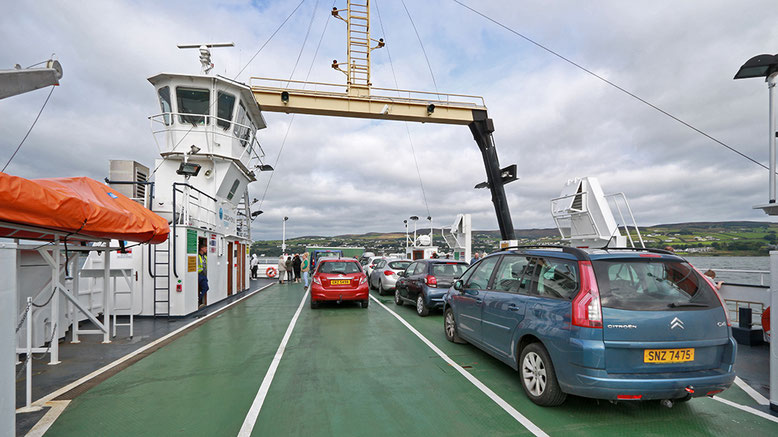 Fähre zwischen Magilligan Point und Greencastle.