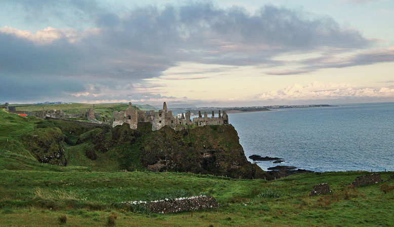 Dunluce Castle östlich Portrush.