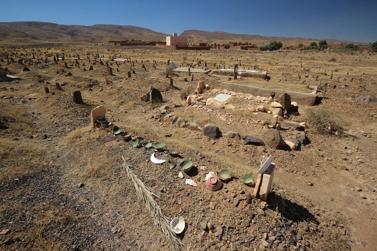 Friedhof im Draa-Tal.