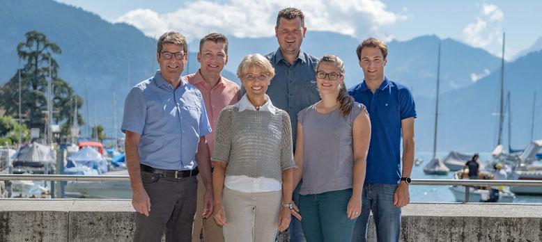 René Barben, Simon Schneeberger, Pia Hutzli, bisher, Matthias Maibach, Fabienne Trummer Haldimann, Rafael Zimmermann