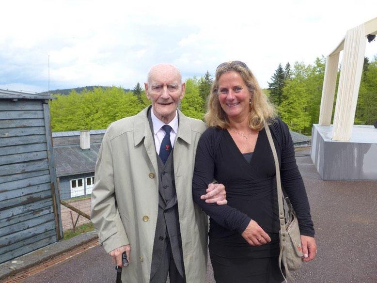 Jan de Vaal gehörte bei den jährlich stattfindenden Gedenkfeiern in Natzweiler-Struthof wie hier im April 2015 immer der niederländischen Delegation an.