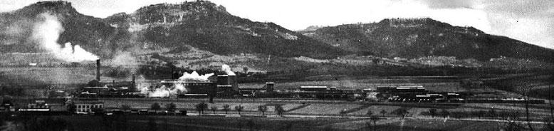 Das LIAS-Werk Frommem in Betrieb, Winter 1948/49