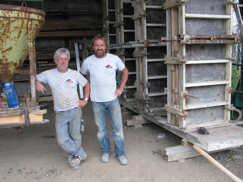 """Dieter Wachtholz und Jakob Nill (Foto: AK """"Wüste"""" Balingen)"""