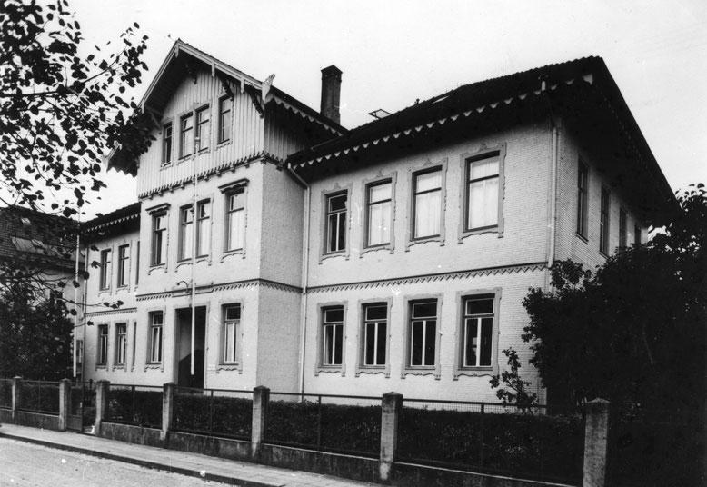 Frauenarbeitsschule um 1944/45 (Foto: Stadtarchiv Balingen)