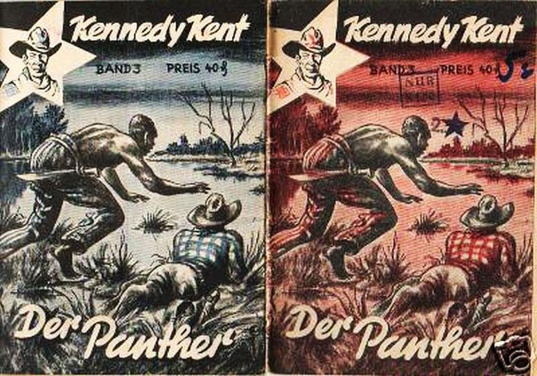 Kennedy Kent 3 (Diese Hefte lagen direkt nebeneinander)