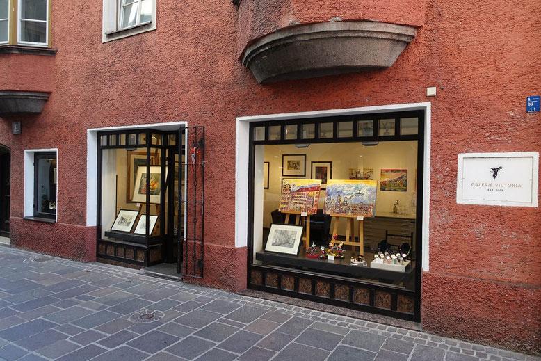Kunst, Bilder und Gemälde - Galerie Vicoria - Seilergasse 17 - Innsbrucker Innenstadt