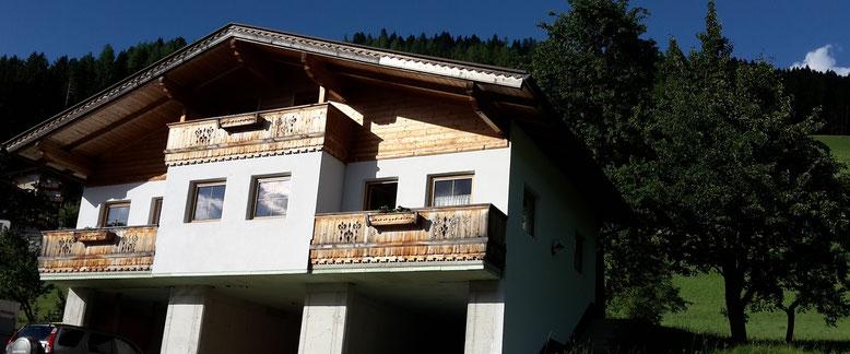 alleinstehendes Ferienhaus am Gerlosberg