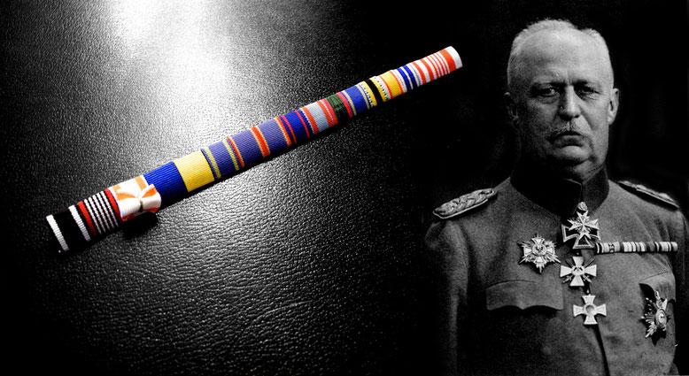 Replikat der Feldspange von General Erich Ludendorff