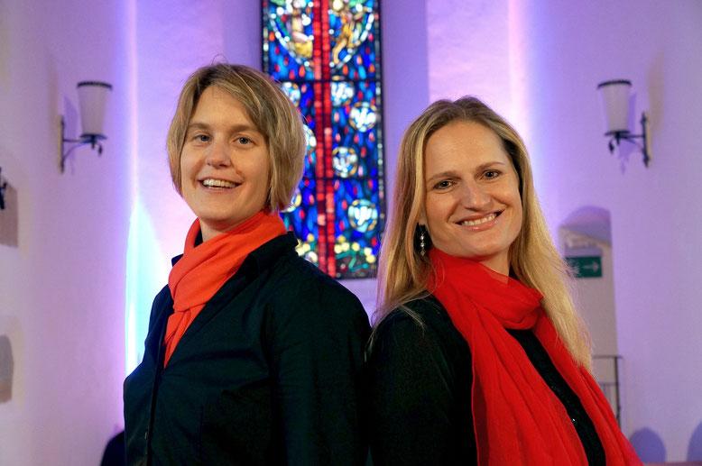 Rita Sidler und Nicole Killer