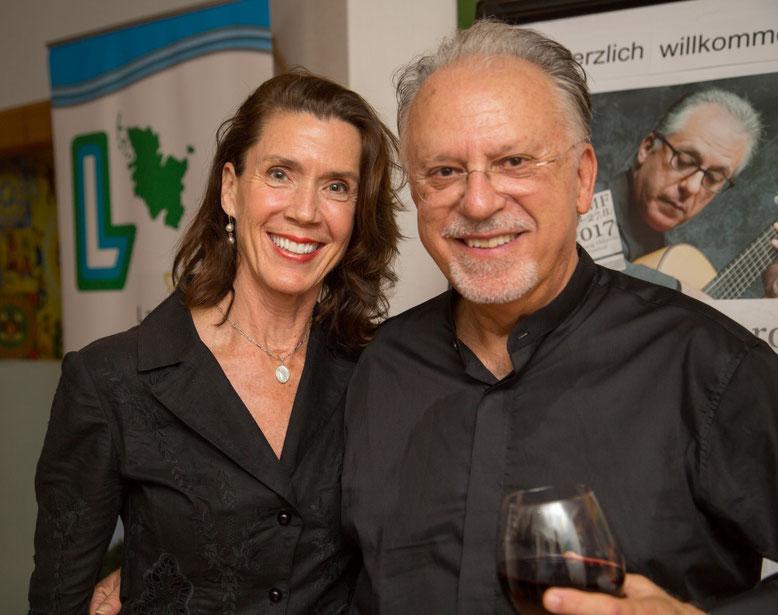 Vielen Dank für Ihren Besuch in Schenefeld - Herr und Frau Romero!
