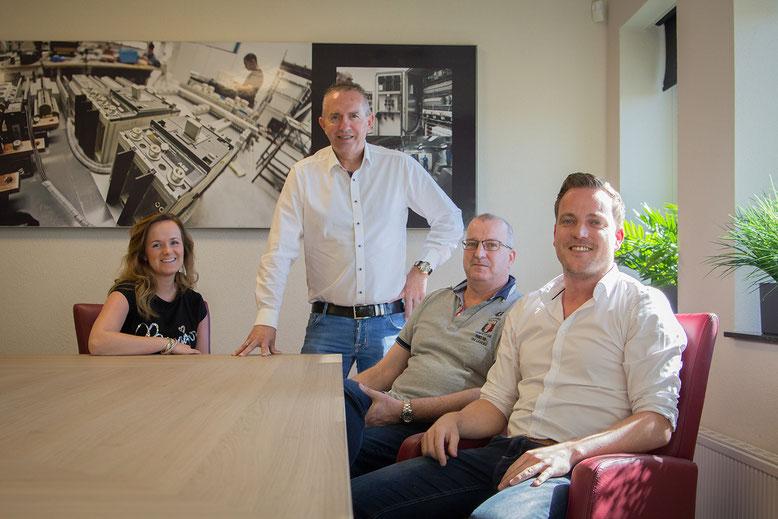Het management team van Werkina Werkendam