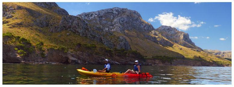 kayak mallorca piragua rutas betlem es calo