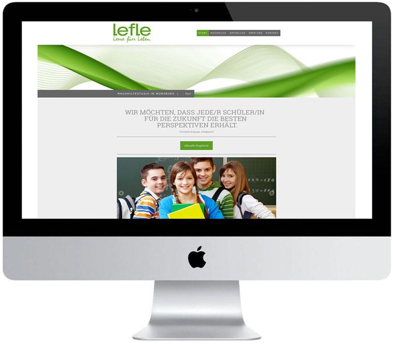 Webdesign Homepage Internetseite Onlinepräsenz Responsive Design