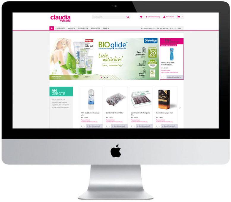 OnlineShop Webdesign Internetshop Responsive Webshop Internetseite