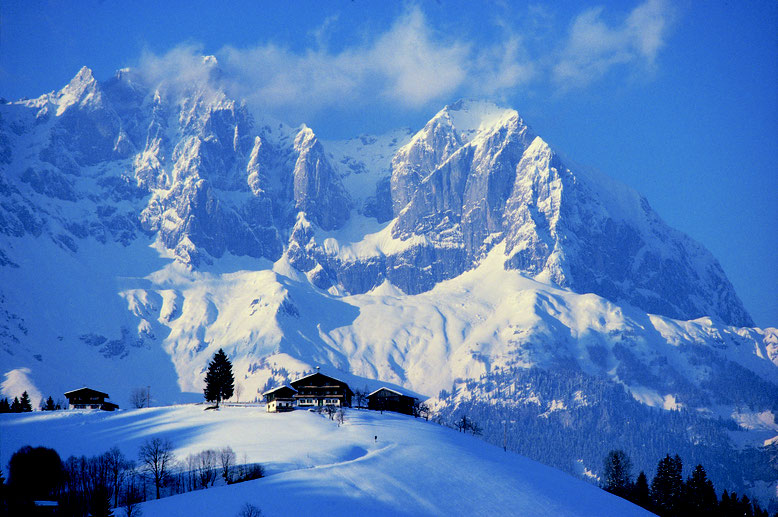 Winter at the Wilder Kaiser; Skiing in the Skiwelt Wilder Kaiser - Brixenthal