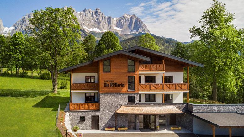 Appartements mit Sauna und Infrarot Kabine sowie Lift und Carport