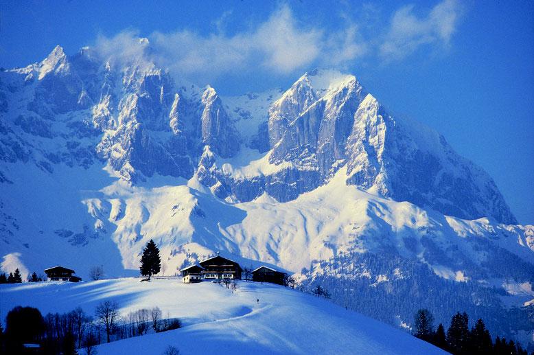 Winter am Wilden Kaiser; Skifahren in der Skiwelt Wilder Kaiser Brixenthal