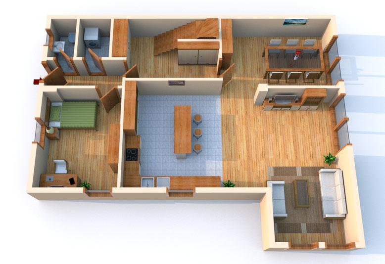 Haus Mokka, Wohnung 22, Erdgeschoss
