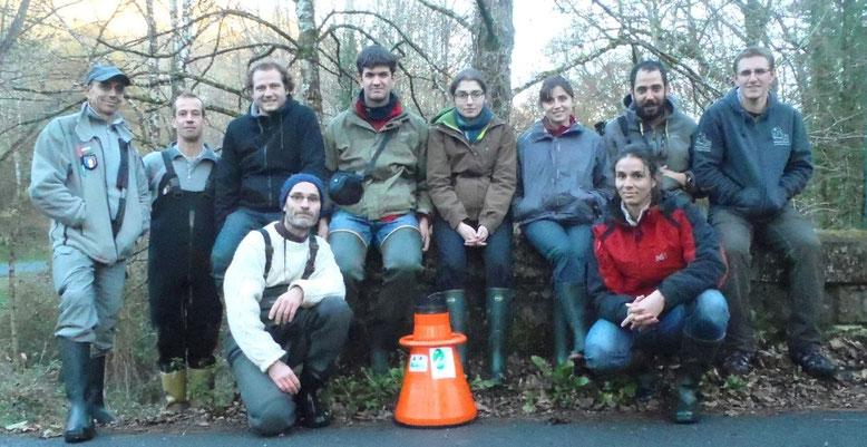 Organisation des Journées Inter-Régionales sur la conservation de la Moule perlière (87)