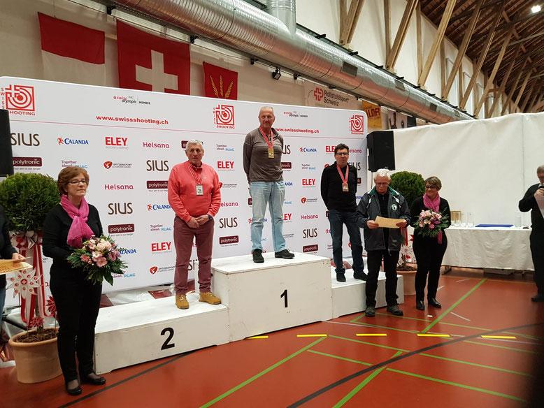 Bubu vice Champion Suisse 10 m  - Finale à Berne 28.02.2020