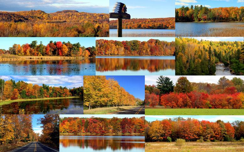Wisconsin (Rice Lake und Turtle Lake Area)+ Minnesota