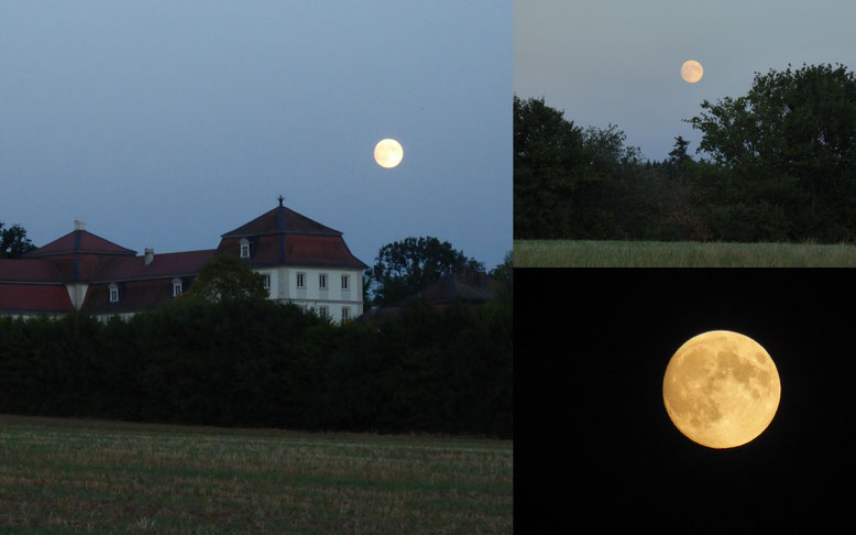 Vollmond am 26.07.2018