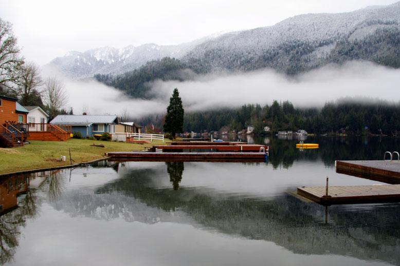 Lake Sutherland am frühen Morgen
