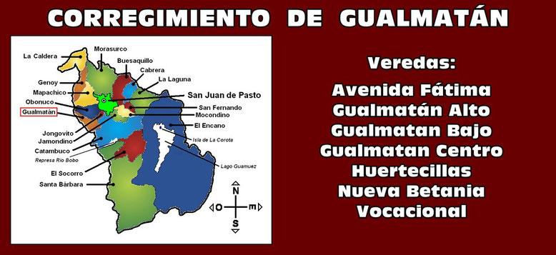 Corregimiento de Gualmatán - Pasto