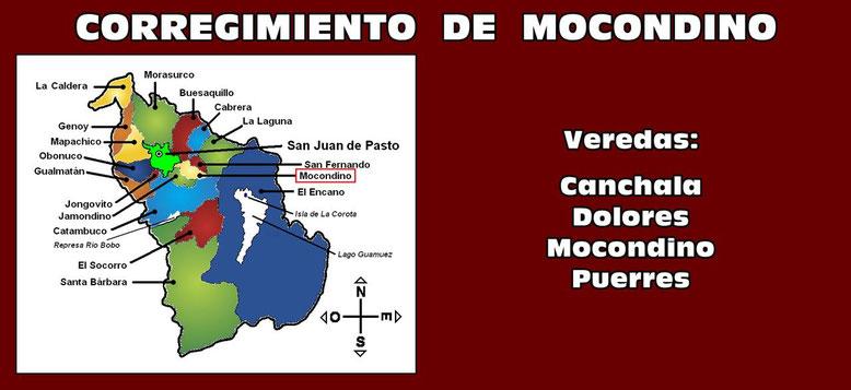Corregimiento de Mocondino - Pasto