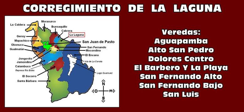 Corregimiento de La Laguna - Pasto