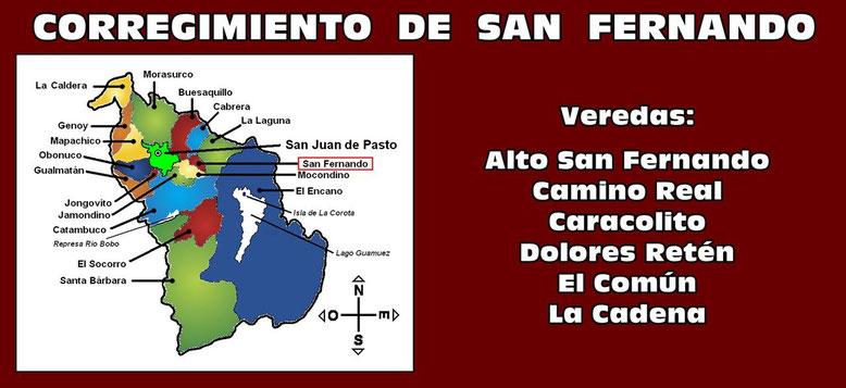 Corregimiento de San Fernando - Pasto