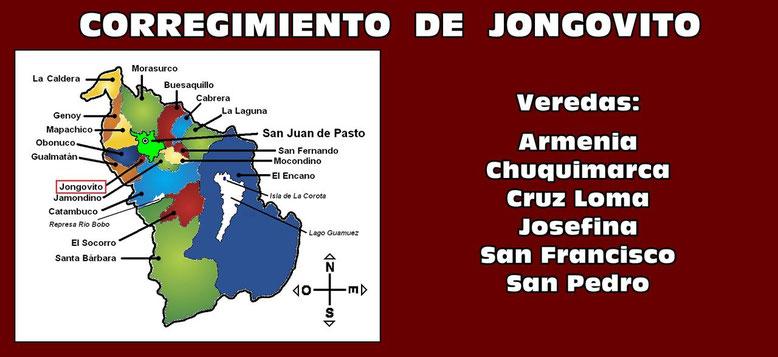 Corregimiento de Jongovito - Pasto
