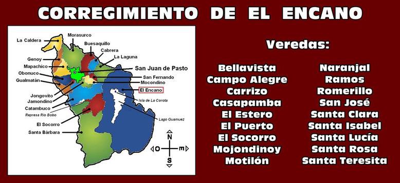 Corregimiento de El Encano - Pasto