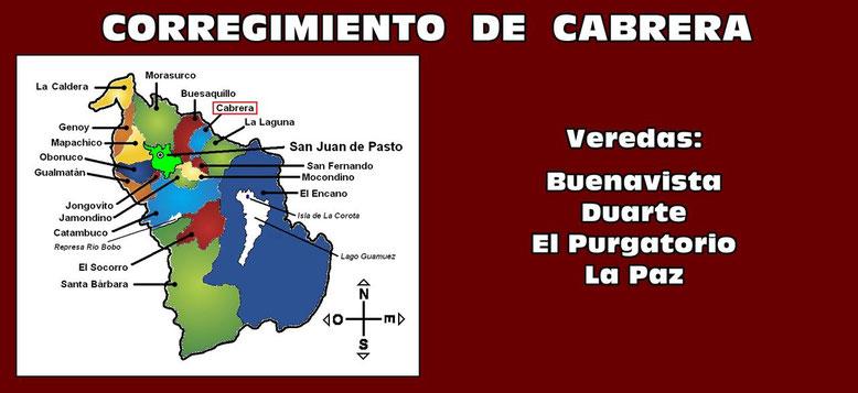 Corregimiento de Cabrera - Pasto