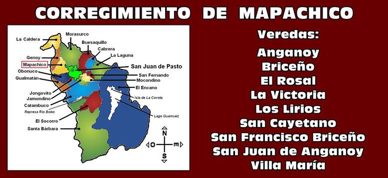 Corregimiento de Mapachico - Pasto