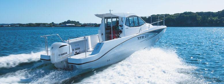 YFR24-EX新艇・清水マリン