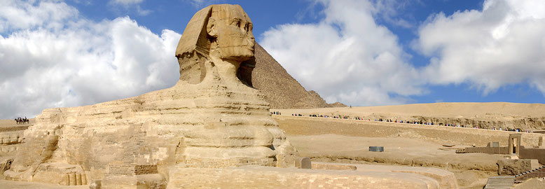 EGYPTE : Giseh, le Sphinx