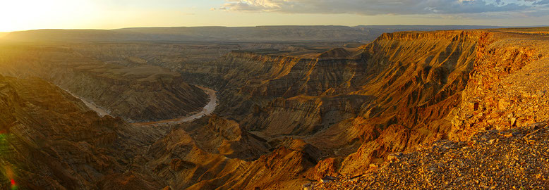 NAMIBIE : Fish River Canyon