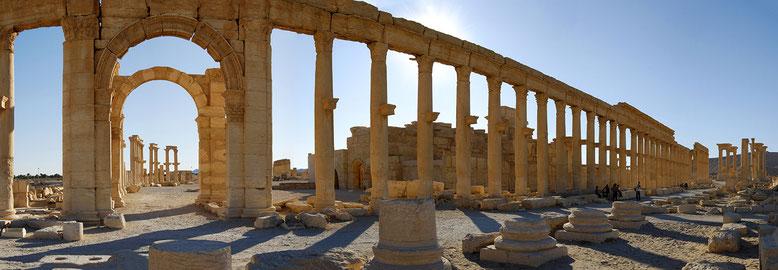 SYRIE : Palmyre, le théâtre