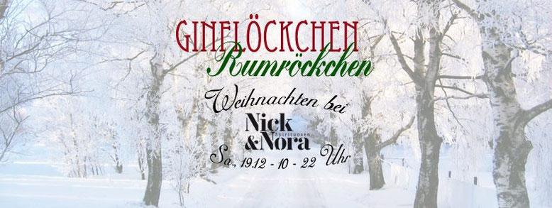 Ginflöckchen - Rumröckchen - Weihnachten @ Nick & Nora - Spirituosen