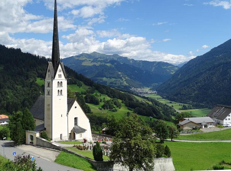 Glarner und Bündner Senioren trafen sich im schmucken Dorf Seewis im Prättigau.