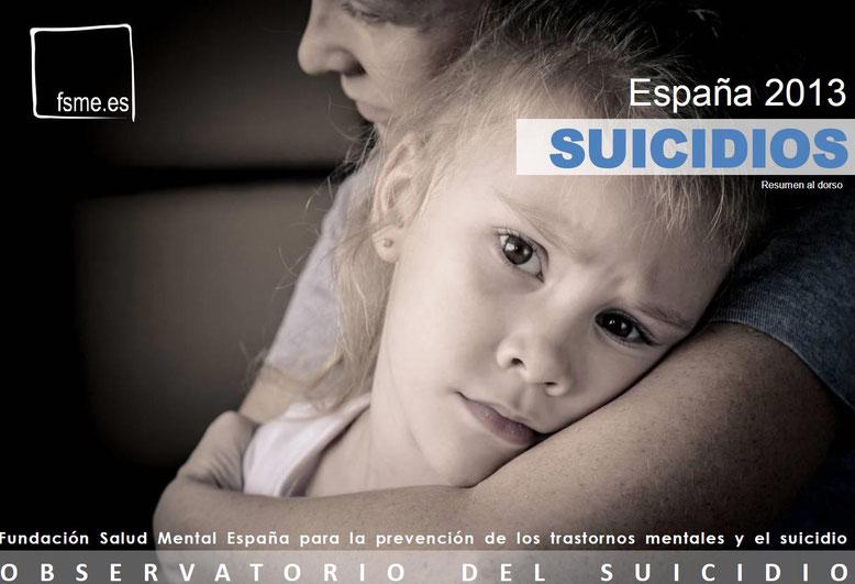 España. Suicidios 2013.